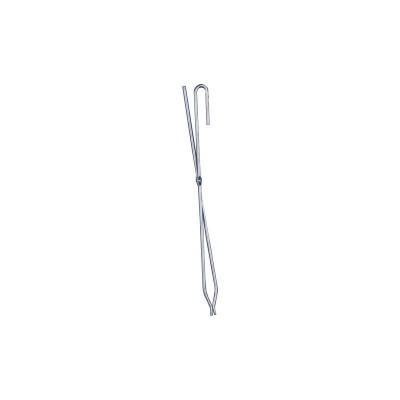 Teelichtbaum groß, Weihnachtsdekoration aus Edelstahl