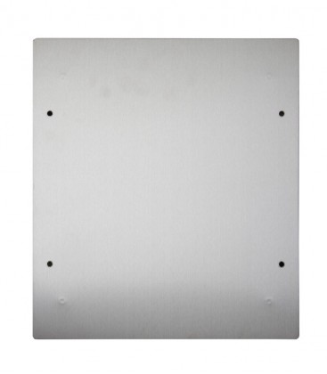 Accessory adapter plate, stainless steel