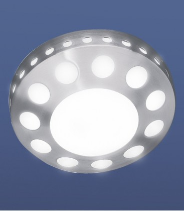 Wall & ceiling light OLATA, stainless steel