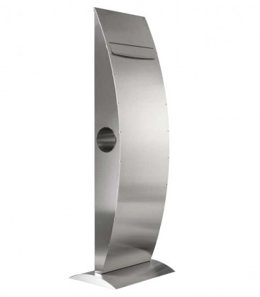 Standing letterbox LA-OLA, stainless steel
