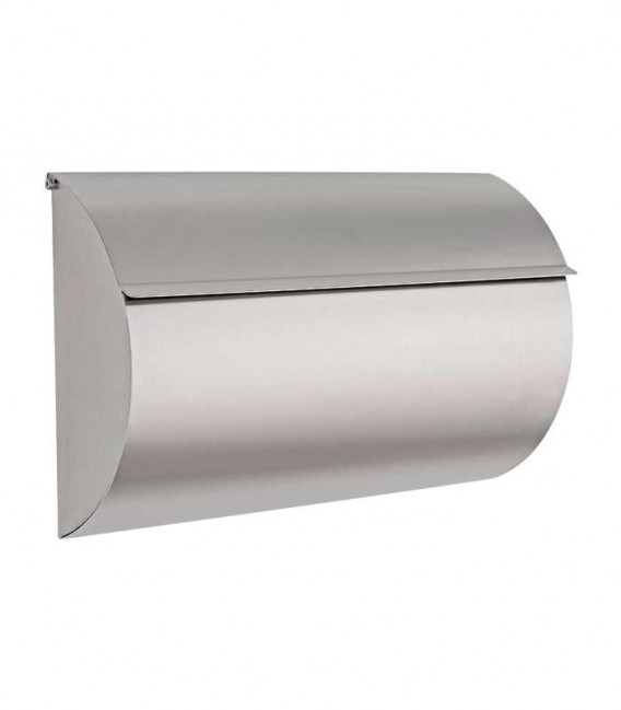Newspaper box TAX, stainless steel