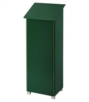 Standing post box GRAN SECURO 03, dark green