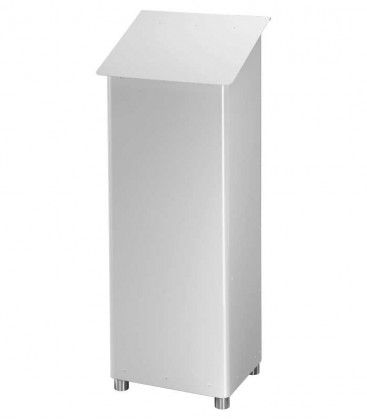 Standing post box GRAN SECURO 03, white