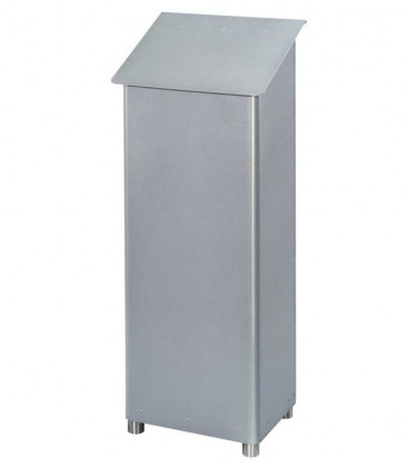 Standing post box GRAN SECURO 03, diamond silver
