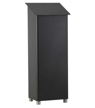 Standing post box GRAN SECURO 03, black-mica