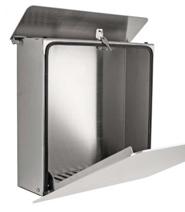 Letterbox FONDO, stainless steel
