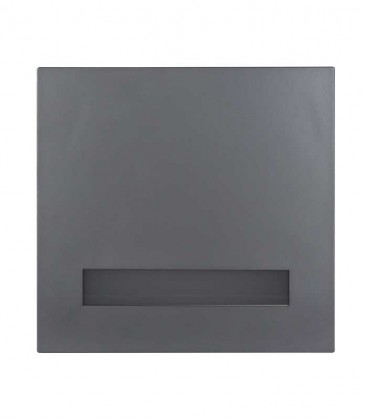 Letterbox FONDALUX, grey ral 7016