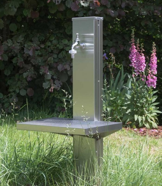 Stainless Watering Place