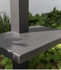 Graphite watering place with table