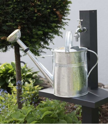 Watering can 9 l, galvanized