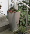 Stainless Steel Planter, 65 cm