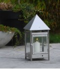 Stainless Candle Lantern