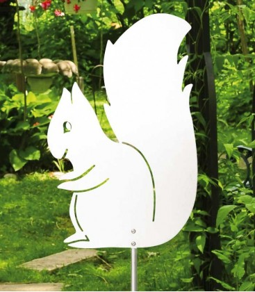 Stainless Sculpture SQUIRREL