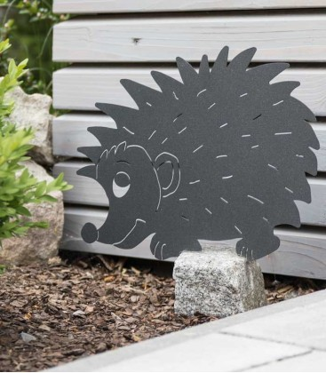 Garden Figure HEDGEHOG, graphite