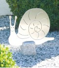 Garden Figure SNAIL, Stainless Steel
