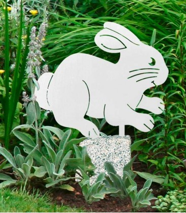 Stainless Garden Figure RABBIT