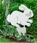 Garden Figure RABBIT, Stainless Steel