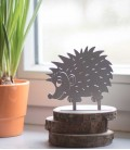 Deco figure HEDGEHOG, Stainless Steel