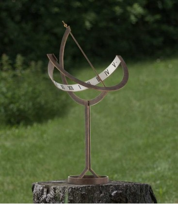 Brown-gold Garden Sundial