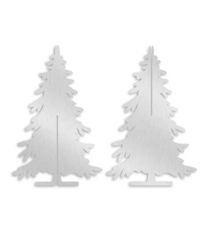 deco figure christmas tree stainless steel 3d puzzle. Black Bedroom Furniture Sets. Home Design Ideas