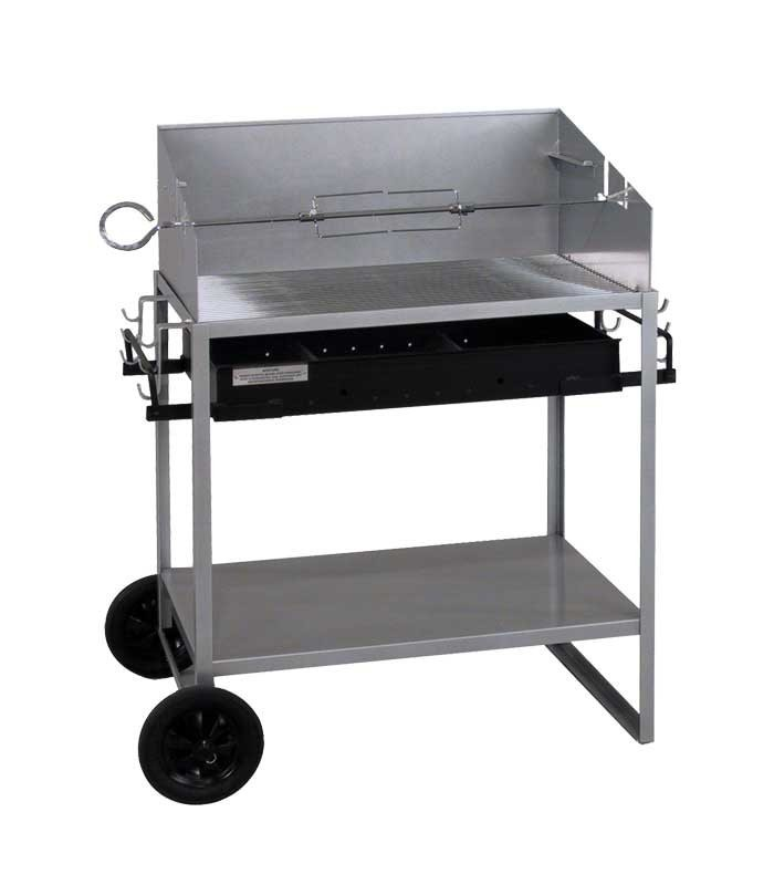 grill for sale charcoal barbecue silver mobile. Black Bedroom Furniture Sets. Home Design Ideas