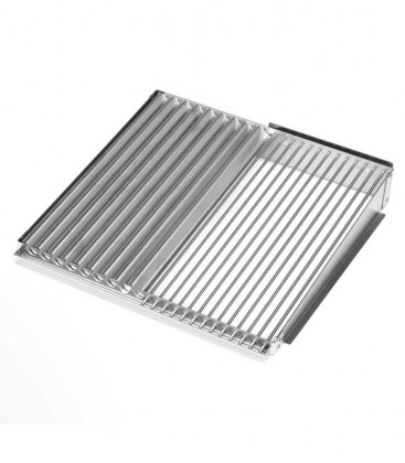 Half Bio Grill Grate, stainless