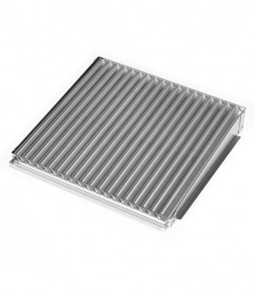Stainless Bio Cooking Grate with shaped ribs