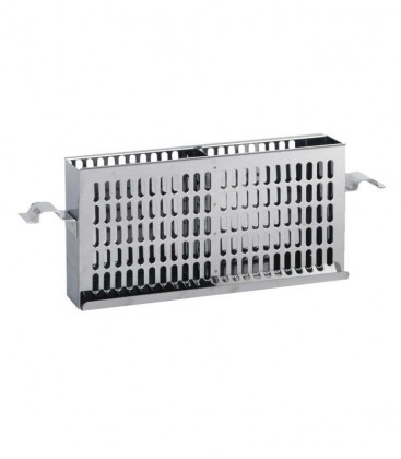 Stainless Side Charcoal Basket