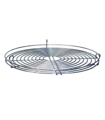 Cooking grate, round, chrome plated, Ø 50 cm