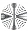 Cooking grate round, chrome plated, Ø 50 cm