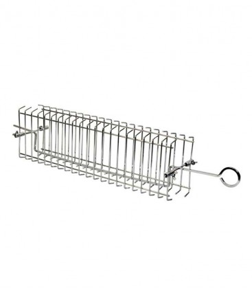 Rotisserie flat basket for grill grate 70 cm