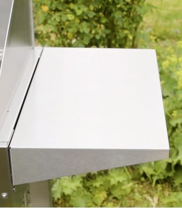 Stainless BBQ Side Table