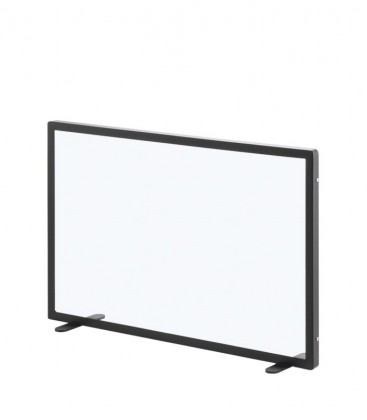 Glass fire screen