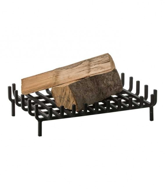 Fireplace grate for multi sided fire place