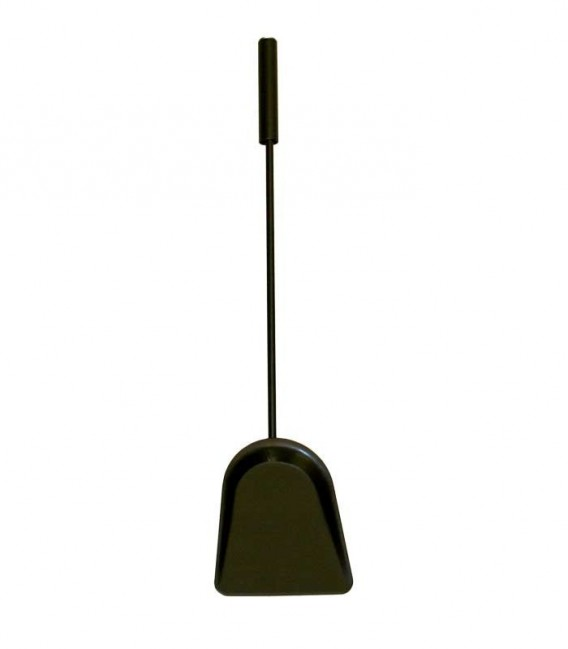 Fireplace Shovel black, L 57 cm