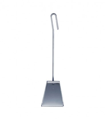Stainless Fireplace Shovel, L 56 cm