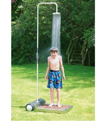 Stainless Garden Shower, mobile