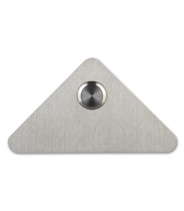Stainless steel bell push TRIO
