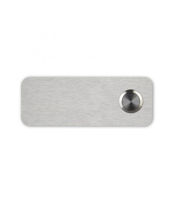 Stainless steel bell push CANTO