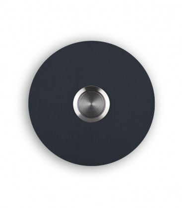 Round bell push SONITO, grey