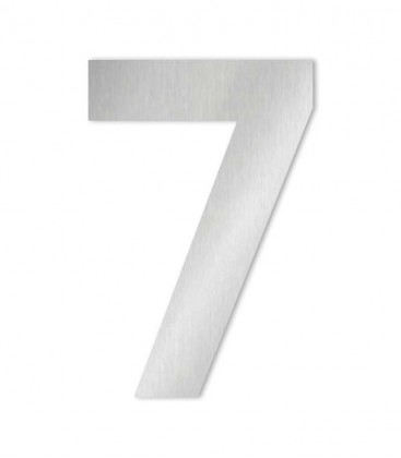 Stainless steel house number MIDI-XL 7