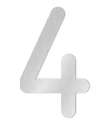 Stainless steel house number MAX-XXL 4