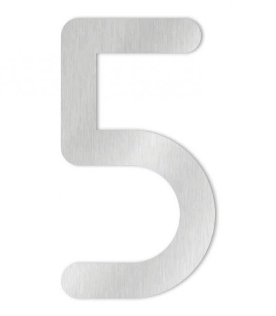 Stainless steel house number MAX-XXL 5