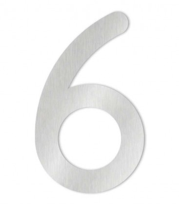 Stainless steel house number MAX-XXL 6