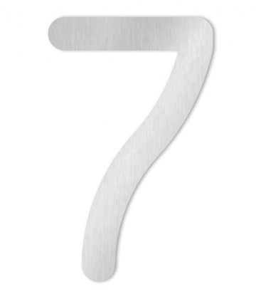 Stainless steel house number MAX-XXL 7