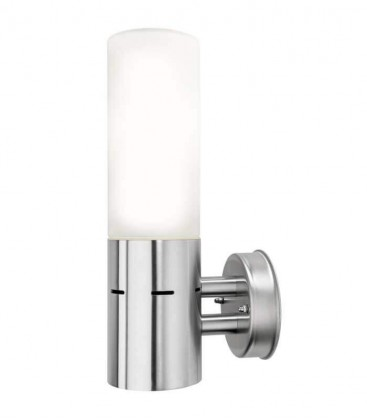 Outdoor wall light IPLIO, stainless steel