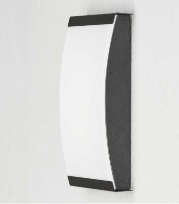 LED outdoor wall light SELLIX, graphite