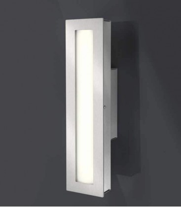 LED outdoor wall light CENIA, stainless steel, 4000 K