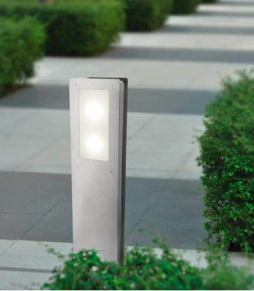 Path lighting EZZO-STAND, H 80 cm, stainless steel
