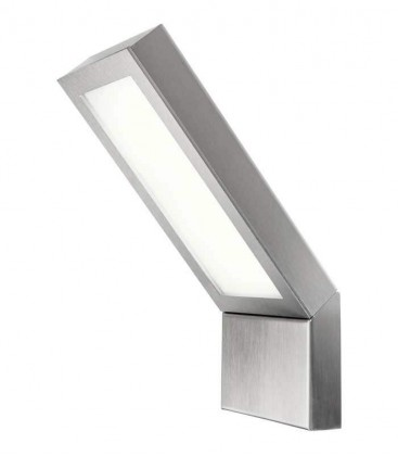 LED outdoor wall light EZZO, stainless steel